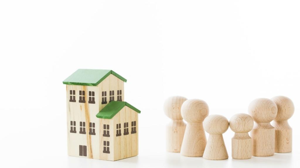 共有物分割請求訴訟で「現物分割」の判決が出ないケースのイメージ