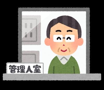 管理人室のイメージ